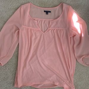 American Eagle 3/4 sleeve lightweight blouse